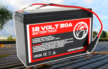 Spare Lithium ION Batteries