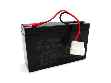 Baitboats-Europe.Com Bait Boat Lead Battery 6volt 12ah (Anatec Bait Boats)