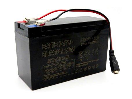 Baitboats-Europe.Com Bait Boat Lead Battery 12volt 9ah