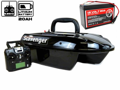 Navic Scavenger Bait Boat with Lithium ION Battery
