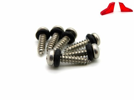 V3 Baitboat Rear Light Cover Screws (6x)