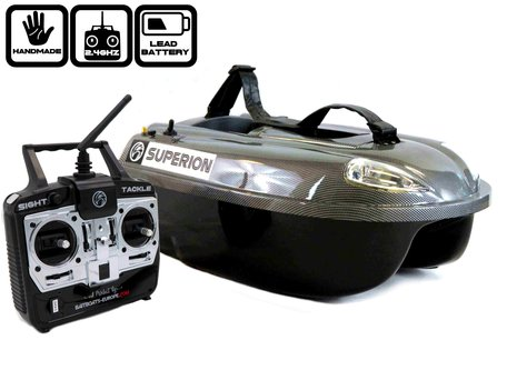 Sight Tackle Superion Bait Boat with Lead Battery