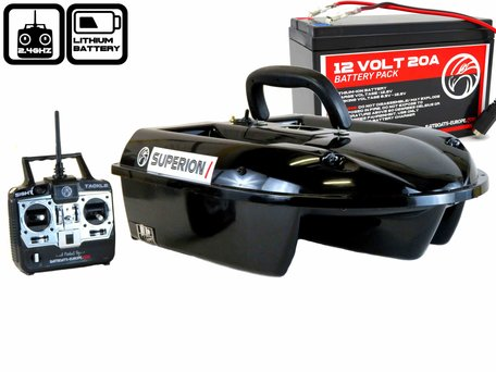 Sight Tackle Superion I Bait Boat with Lithium ION Battery