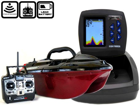 Skarp Baitboat with Sight Tackle SK-300 Color Fishfinder