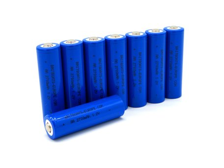Baitboats-Europe.com AA 2700mAh Rechargeable Batteries (8 pieces)