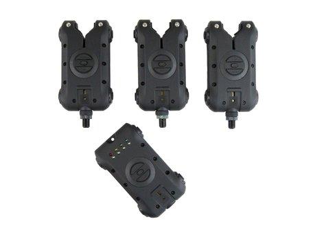 Sight Tackle SKX Bite Alarms & Receiver 3+1