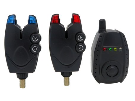 Sight Tackle BSQ Bite Alarms & Receiver 2+1