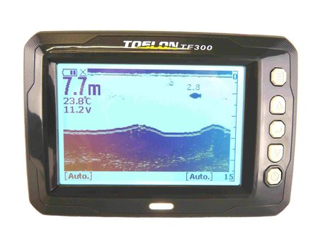 Toslon TF-300 Black and White Fishfinder