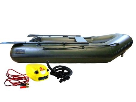 Sight Tackle Columbus Rubberboat 2.30m with Electric Airpump