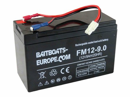Baitboats-Europe.Com Bait Boat Lead Battery 12volt 9ah