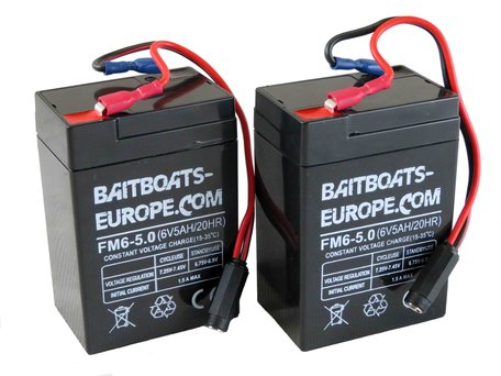 Baitboats-Europe.com Bait Boat Lead Battery 6volt 5ah