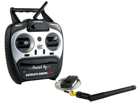 V6 Remote Control with Receiver and Antenna (plug & play)