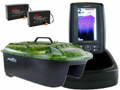 Anatec Maxboat Lithium with ALF-500 Color Fishfinder
