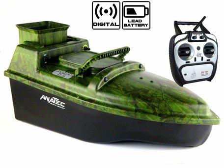 Anatec Monocoque S Oak Baitboat with Lead Battery