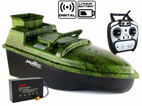 Anatec Monocoque S Oak Baitboat with Lithium ION Battery