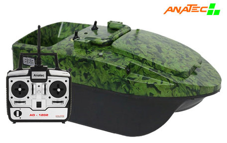 Anatec Pacboat Start'R Evo Camo Ivy with Lead battery