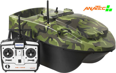 Anatec Pacboat Start'R Evo Forest Camo with Lead battery