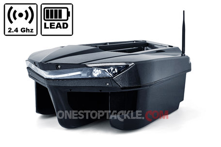 Onestoptackle.com Phantom I Bait Boat wit Lead Battery