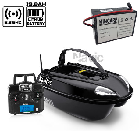 Navic Navitec Baitboat with Lithium ION Battery