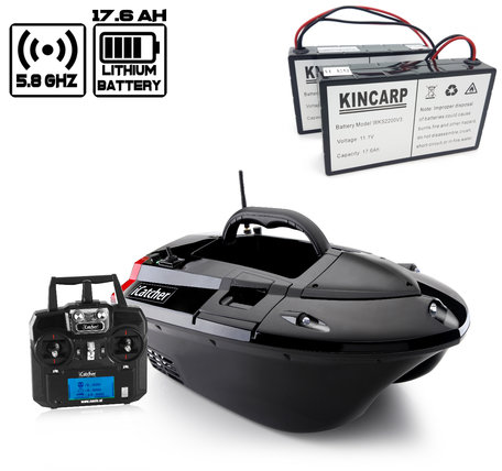 Navic iCatcher Bait Boat with Lithium ION Battery