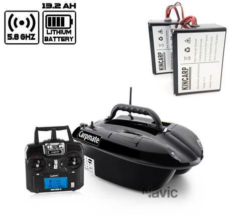 Navic Carpmate Bait boat with Lithium ION Battery