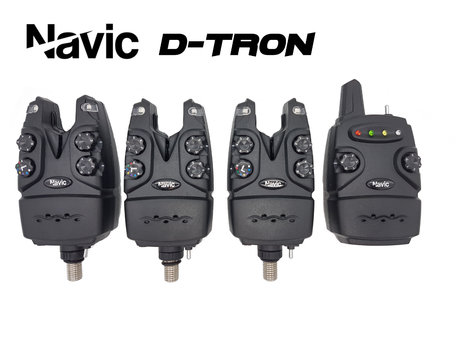 Navic D-Tron 3+1 bite alarm set
