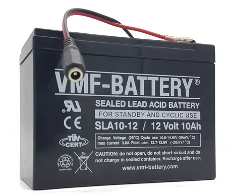 VMF Bait Boat Lead Battery 12volt 10ah