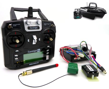 V1 Bait Boat GPS Autopilot Kit
