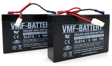 VMF Bait Boat Lead Battery 6volt 7ah