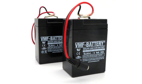 VMF Bait Boat Lead Battery 6volt 5ah