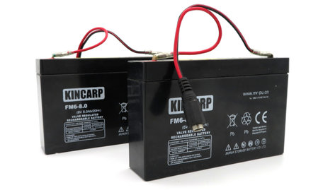 KINCARP Bait Boat Lead Battery 6volt 8ah