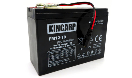 KINCARP Bait Boat Lead Battery 12volt 10ah