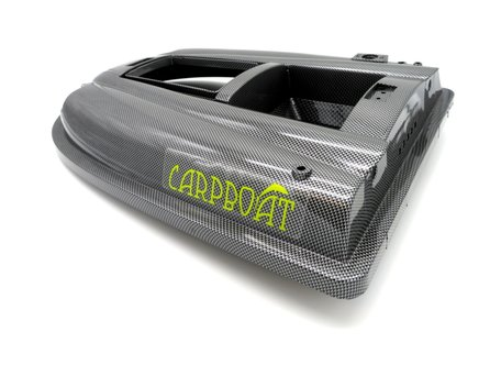V2 Bait Boat Top Hull Carbon