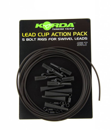 Korda Lead Clip Action Pack Silt (KLCAPS)
