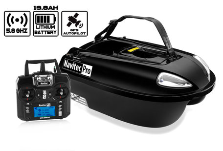 Navic Navitec PRO Bait Boat with GPS Autopilot and Lithium ION Battery