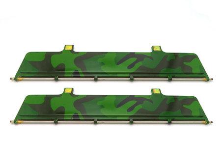 V1 Bait Boat Hopper Doors Camouflage (2x)
