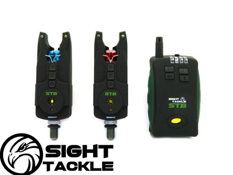 Sight Tackle STB Bite Alarms & Receiver 2+1