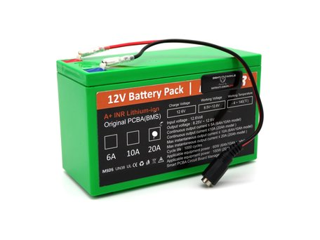 Bait Boat Lithium ION Battery 12v 20aH