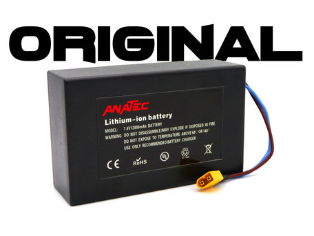 Anatec Bait Boat Lithium ION Battery 7.4v 12aH