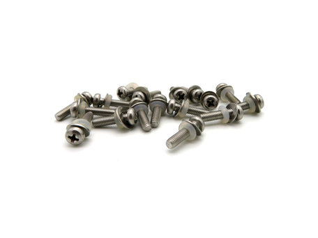 V6 Baitboat Bottom and Top Hull Screws (17 pieces)