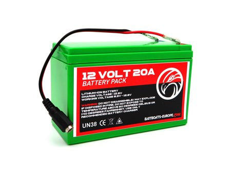 Bait Boat Lithium ION Battery 12v 20aH