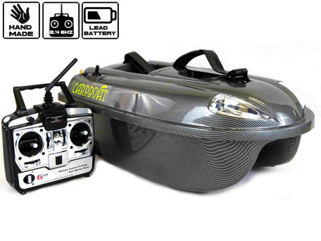Sight Tackle Carpboat V2 Baitboat Carbon Edition with Lead Battery