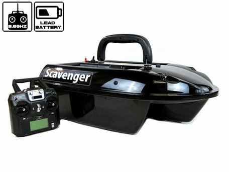 Sight Tackle Scavenger Bait Boat with Lead Battery