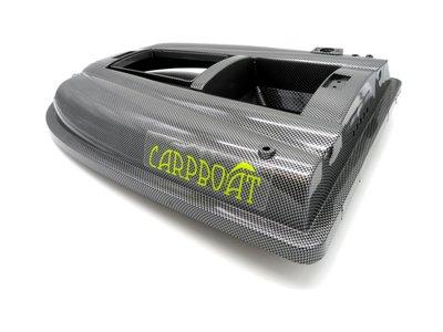 v2 voerboot bovenkant carbon