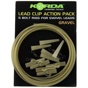 korda leadclip action pack gravel